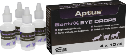 aptus sentrx eye drops package